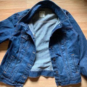 Old Navy dark wash jeans jacket